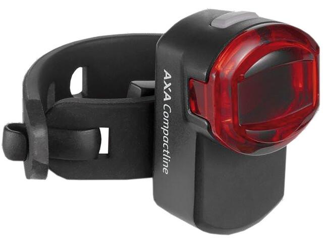 Axa Compactline USB Éclairage arrière LED fonctionnant sur piles